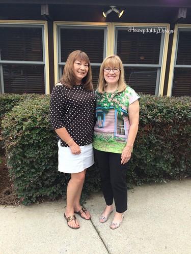 Pam Richardson and me - Housepitality Designs