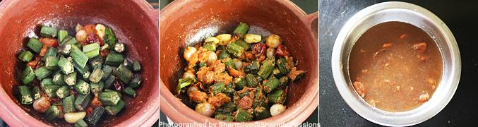 How to make Vendakkai Puli Kuzhambu Recipe - Step5
