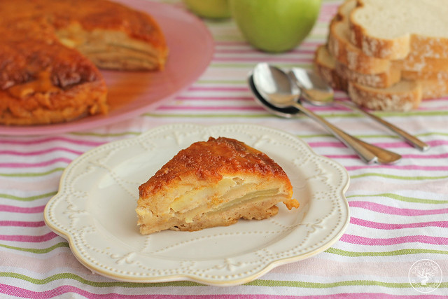 Tarta manzana y pan de molde micrrondas www.cocinandoentreolivos.com (8)