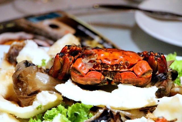 Peony Jade Hairy Crab