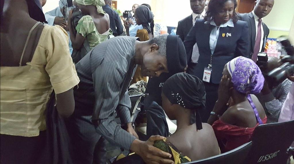 chibok girls released