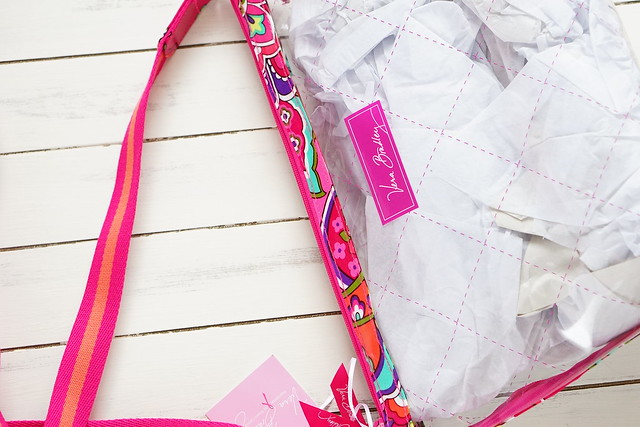 Stadium Crossbody in Pink Swirls