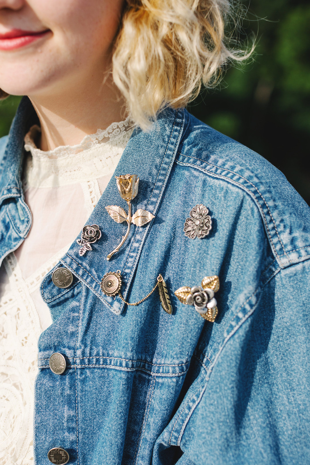 An updated and elevated take on the pin trend. // Photo for Free People by Lena Mirisola on juliettelaura.blogspot.com