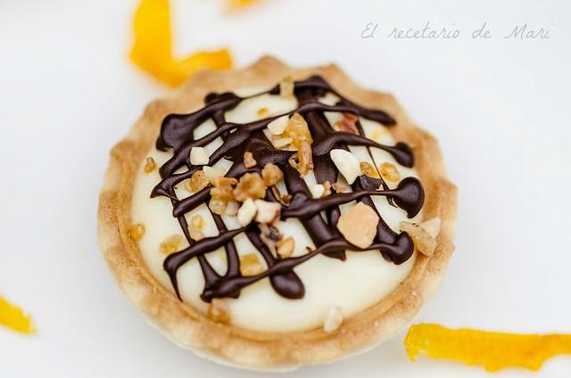 Tartaleta de crema de naranja 3
