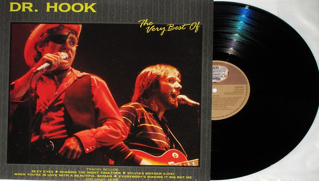 "DR HOOK THE VERY BEST OF DR HOOK 12"" LP"