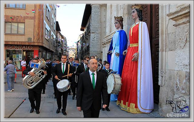 Briviesca Fiestas 2016 Proclamación de Reinas y Pregón 2