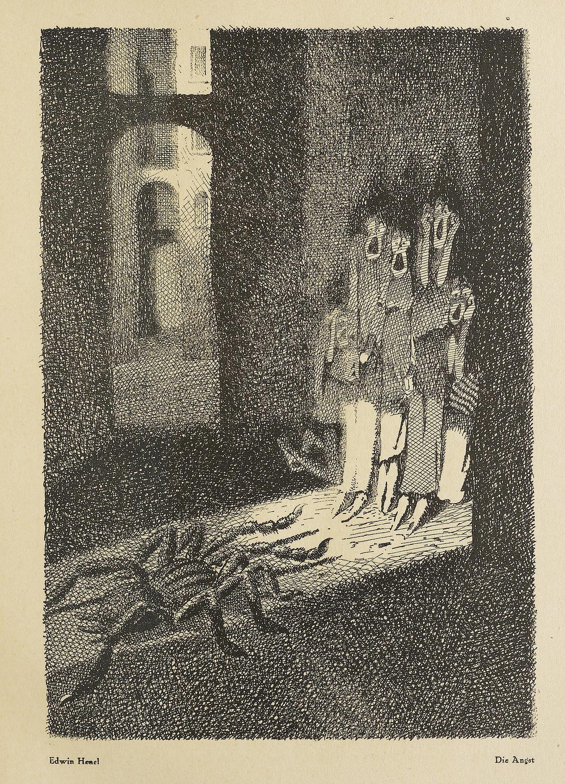 Der Orchideengarten - January 1919 - Edwin Henel - Die Angst