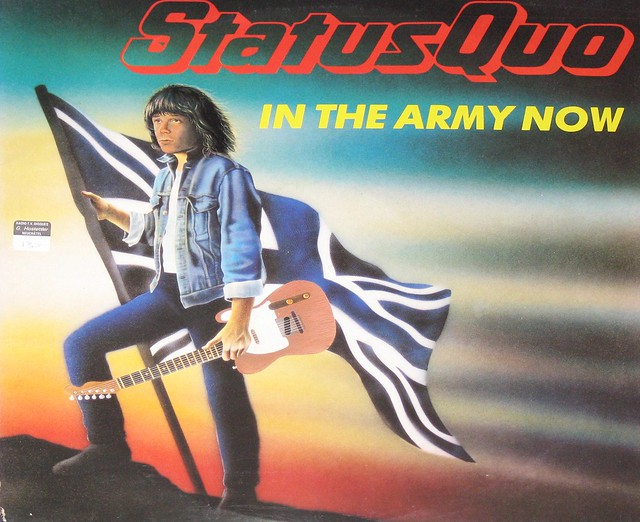 "Status Quo You Are in the Army now 12"" Maxi-single"