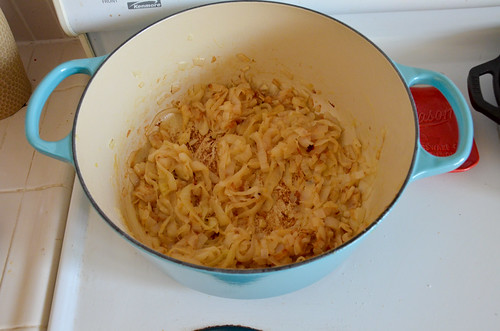 Caramelized Onions in the French Oven - 30 minutes