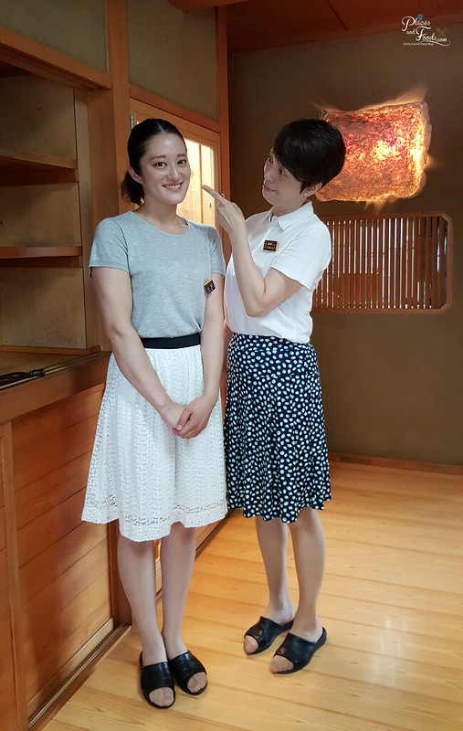 Dining Inaho Semboku City Akita owner and daughter