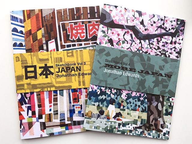 Japan zines by Jonathan E
