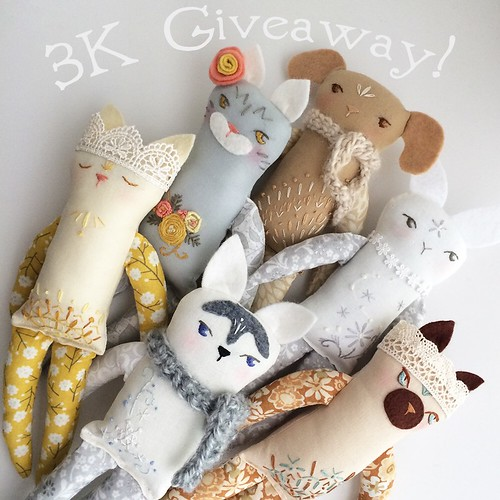 Win a free custom pet portrait doll!