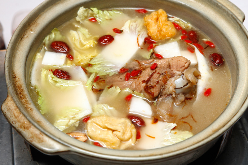 Popo Steamboat Pork Bone Soup