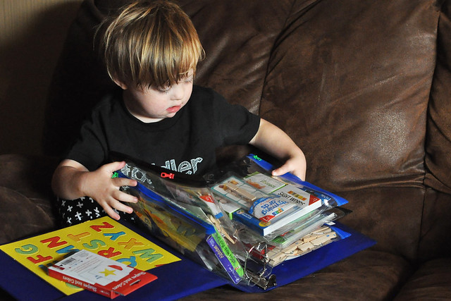 10 Educational Busy Bags for Special Needs