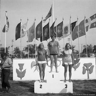 Olympiades des terrains de jeux au parc Jarry. 13 août 1969, VM94-Y-1-15_U0673-088