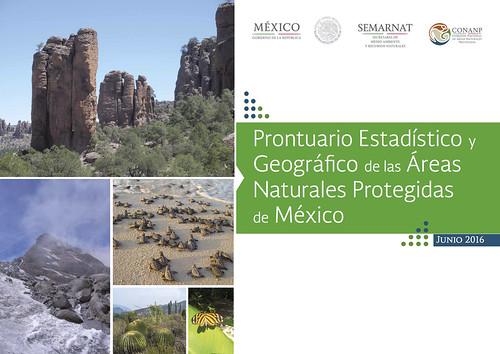 El Prontuario Estadístico y Geográfico de las ANP de México (Geographic and Statistical Handbook of Mexico's National Parks) @CONANP_mx @IEcologiaUNAM
