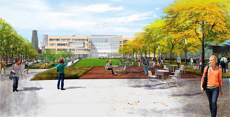 Tepper Quad Renderings