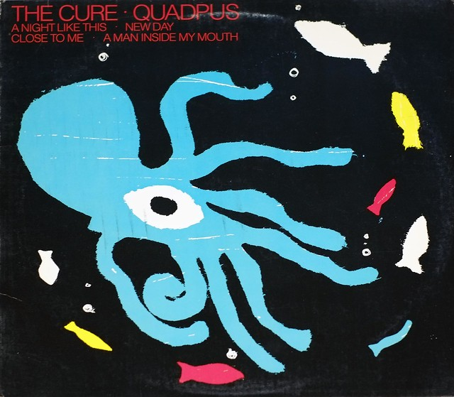 "CURE QUADPUS 12"" LP VINYL"