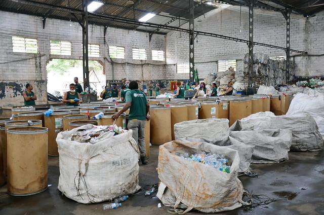 """Lançamento do projeto """"Reciclagem Inclusiva: Catadores nos Jogos Rio 2016"""""""