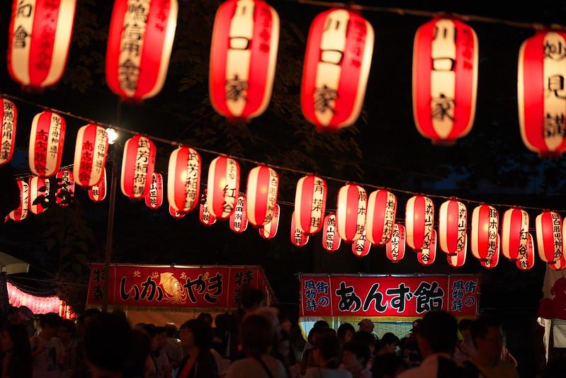雑司ヶ谷鬼子母神の盆踊り 2016年7月22日