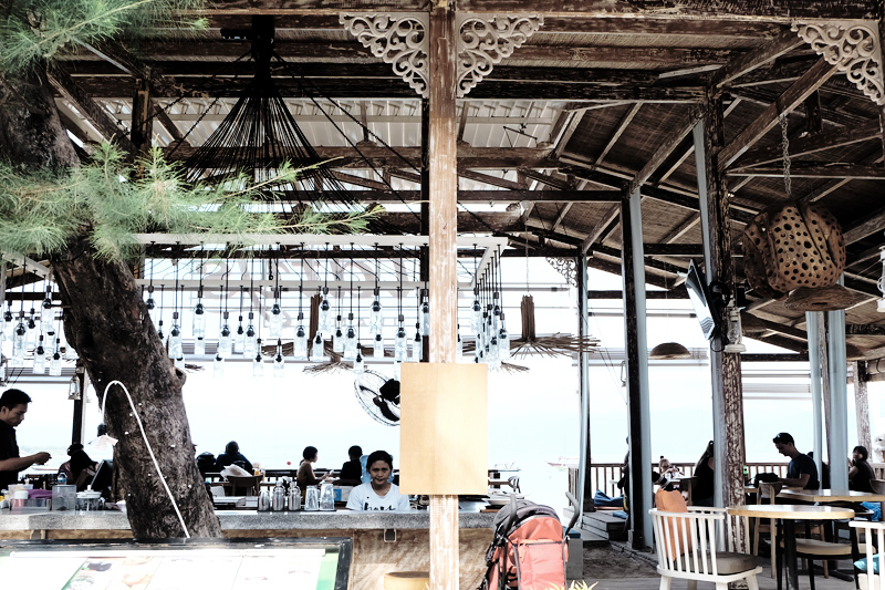 restaurants in gili
