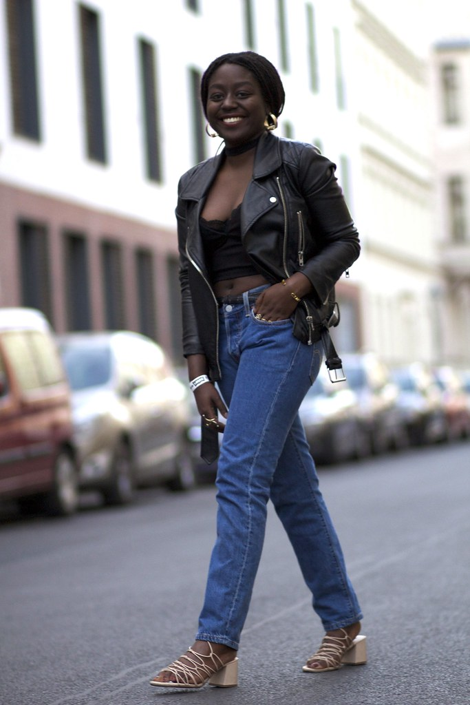 lois opoku levis 505c fashion week party lisforlois