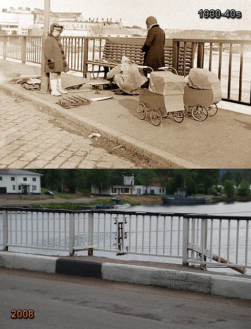 1930-40 Карельский мост Karjalan silta 1940s-2008