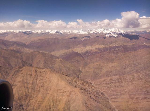 Zanskar Range, 60 KM SE of Leh