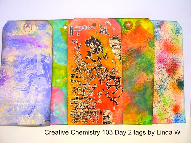 Creative Chemistry 103 Day 2 tags