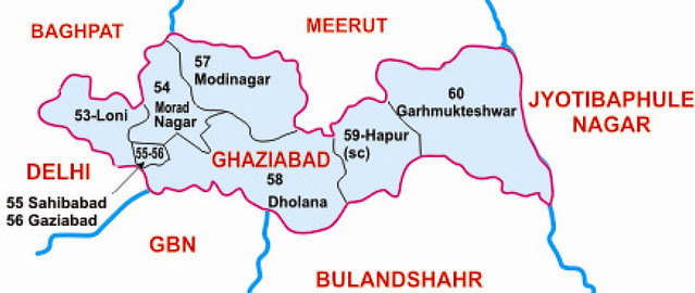 Ghaziabad district Uttar Pradesh Election 2017