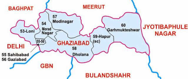 Ghaziabad district Uttar Pradesh Election 2017