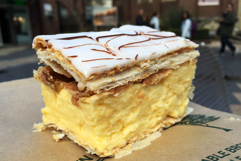 Vanilla slice, The Corso Bakehouse