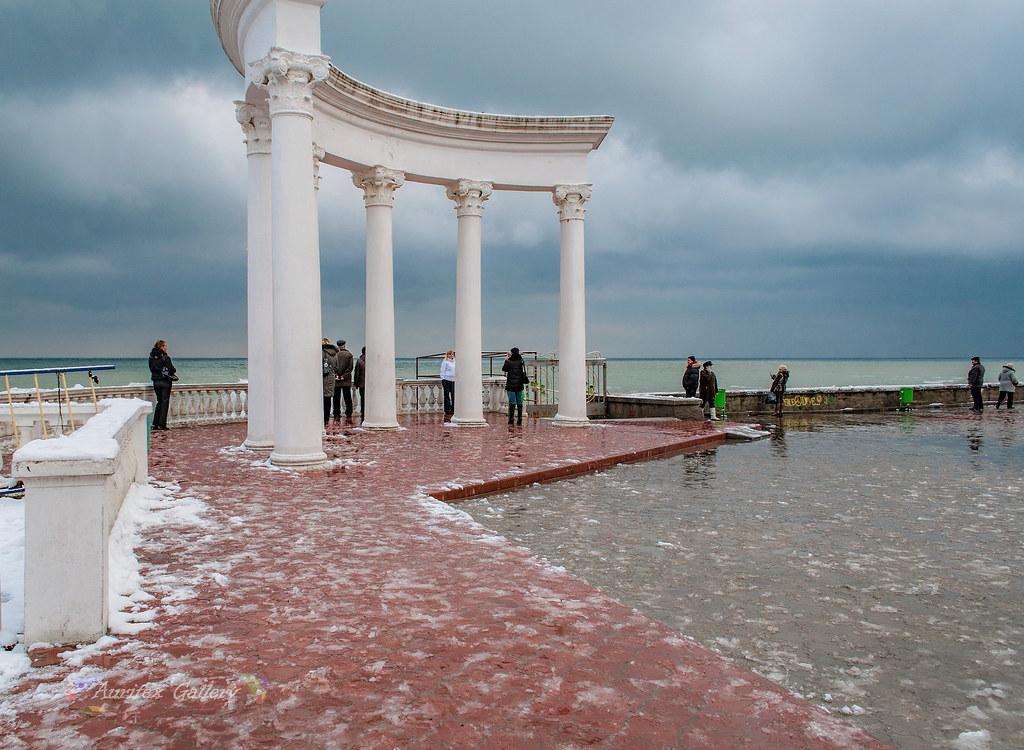 Rotunda in winter