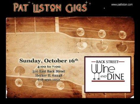 Pat Liston 10-16-16