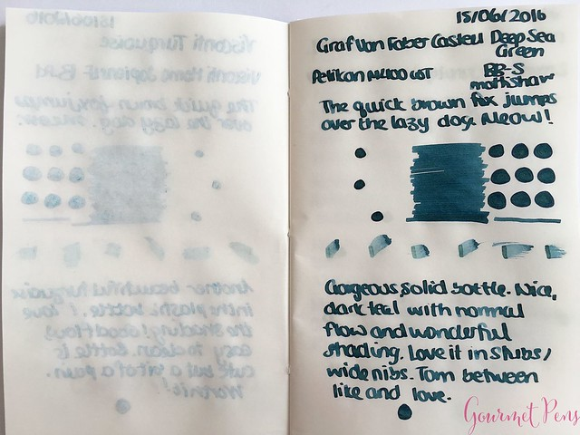 Review @InkJournal Pocket Tomoe Miami Notebook 7