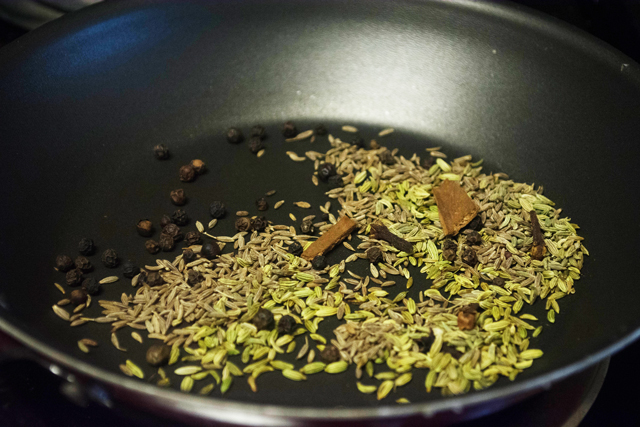 roasted spices for salna