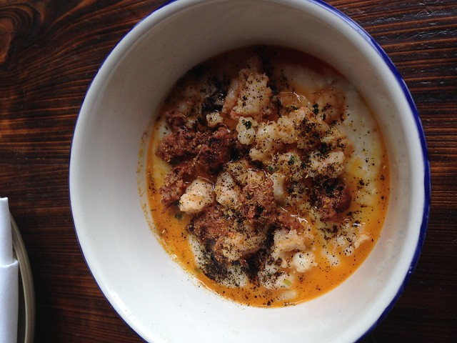 Gulf Shrimp and Grits, Coquette, New Orleans
