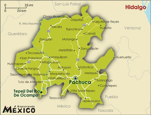 Where is pachuca mexico