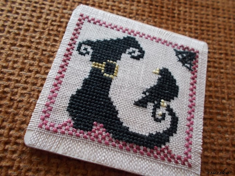 halloween, cross stitch