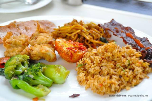 My Breakfast at Signatures Restaurant Hotel Indonesia