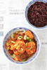 Gamberi in salsa piccante
