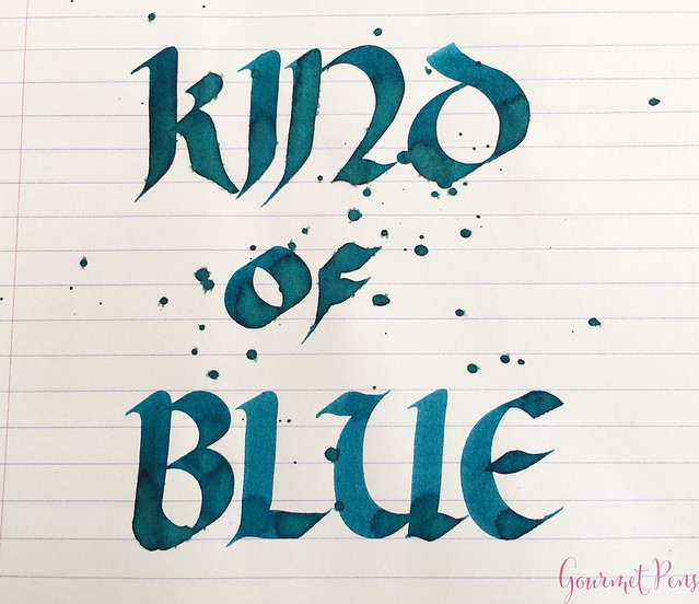 Ink Shot Review Laywines Kind of Blue Pacific Blue @Laywines 6