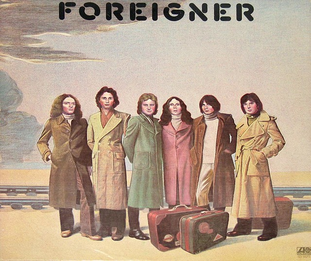 "Foreigner S/T self-titled USA 12"" vinyl LP"