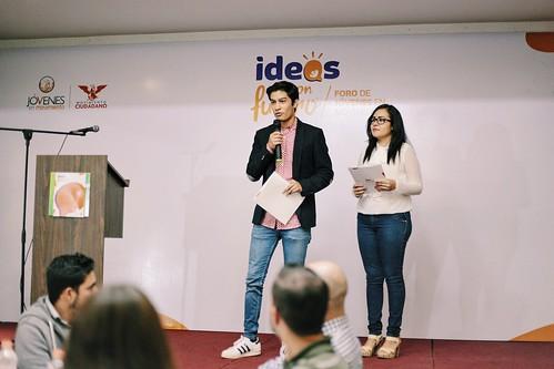 """12 Agosto 2016. Foro de jóvenes en movimiento """"Ideas con futuro"""""""