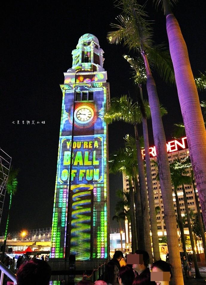 32 香港 閃躍維港 3D光雕匯演
