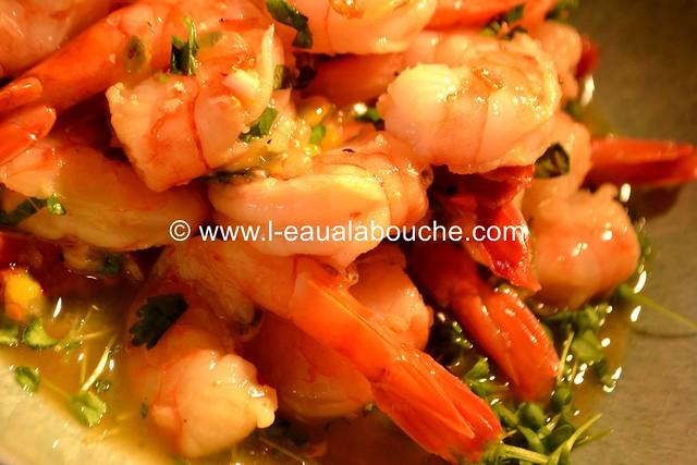 Salade de Crevettes aux Fruits de la Passion © Ana Luthi Tous droits réservés 014