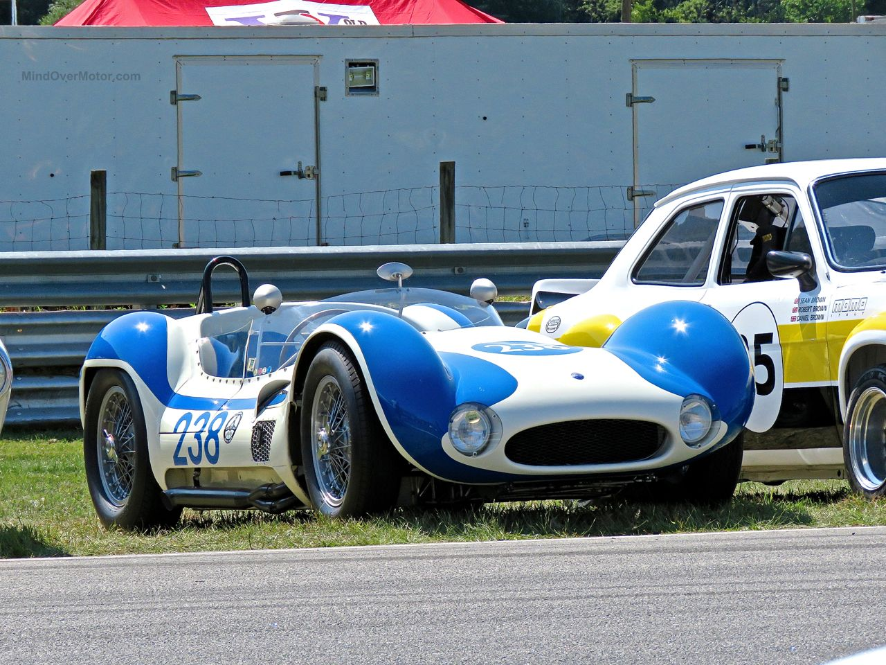 Maserati Birdcage at Lime Rock