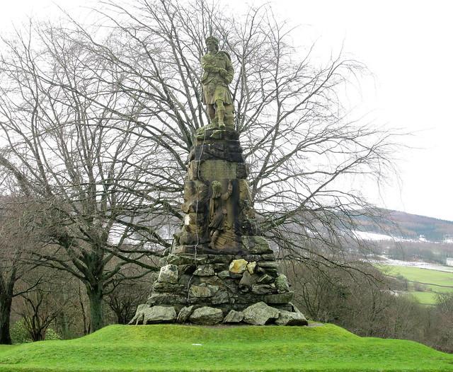 Black Watch Monument, Aberfeldy