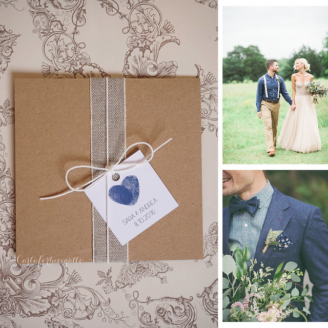 Effortless denim young wedding - Matrimonio blu denim giovane e rilassato