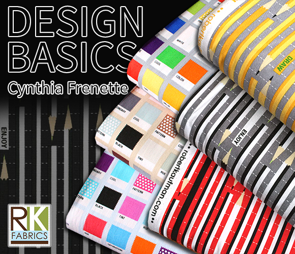 Robert Kaufman Design Basics Collection by Cynthia Frenette